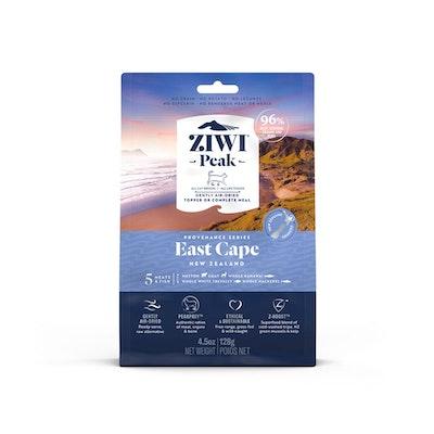 ZiwiPeak ZIWI Peak Provenance Air Dried Cat Food East Cape 128G