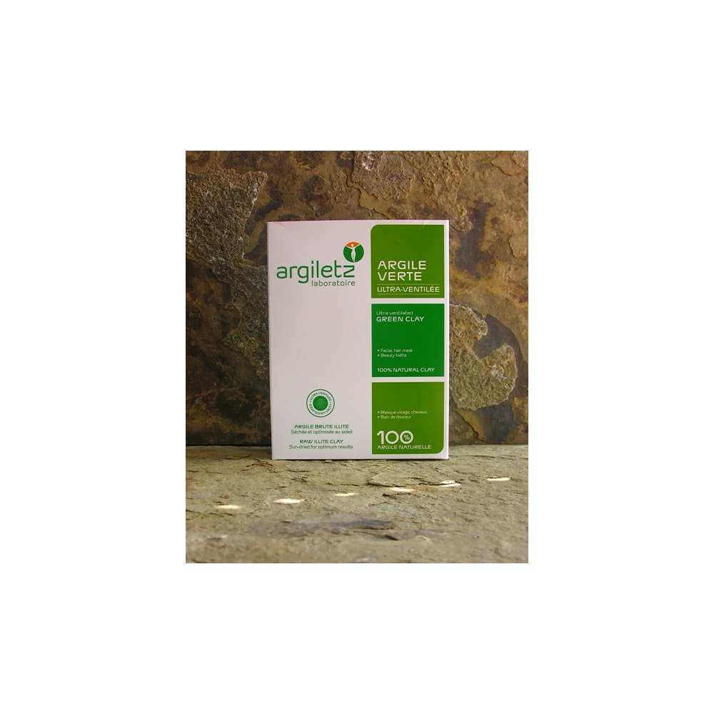 Natural Spa Supplies French Green Clay Ultra Ventillated Illite Skin Detox, Diy Toothpaste