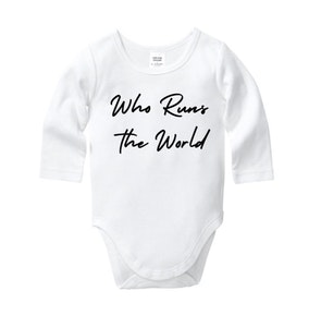 Who Runs The World Onesie