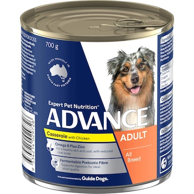 Advance  Adult All Breed  Casserole with Chicken  Canned Dog Food