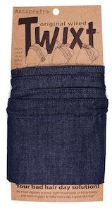 Denim Plain Dark Blue - Twixt / Wired Head Wrap