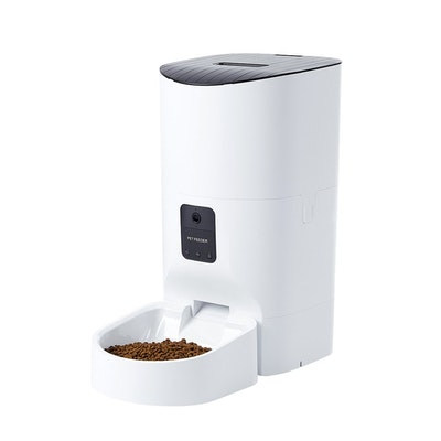 House of Pets Delight Smart Pet Feeder Food Dispenser Portable Remote Bowl With Camera