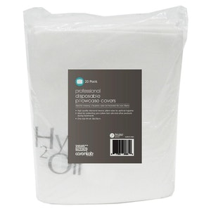 Caronlab Professional Disposable Pillow Case Cover (20 Pack)
