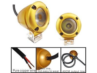 10 watt 1080 lm Gold XML-T6 CREE LED Aluminium Flood Light