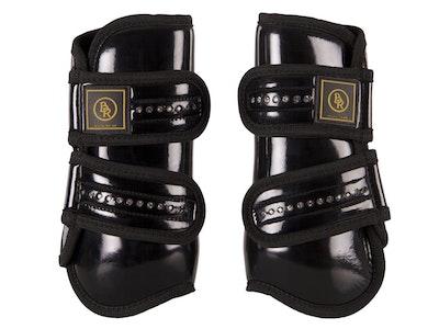 BR Equestrian Pro Max Patent Diamonte Tendon Boot