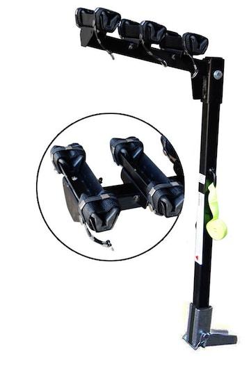 Stanfred 3 Bike Stretch Lock Rack, Hitch Bike Racks