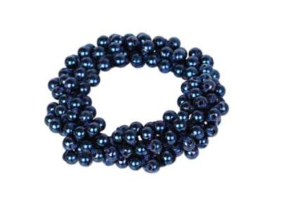 SD-Design Metallic Beads Scrunchie