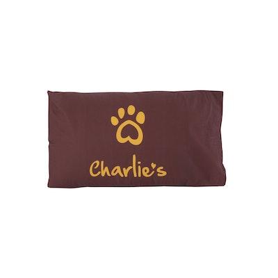 Charlie's Pet Pillowcase Terracotta