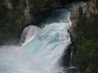 Huka Falls crashes down