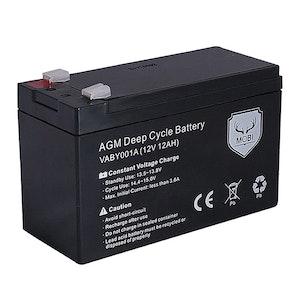 ATEM POWER ATEM POWER 12AH AGM Battery 12V AMP Lead Acid SLA Deep Cycle Battery Dual Solar Power