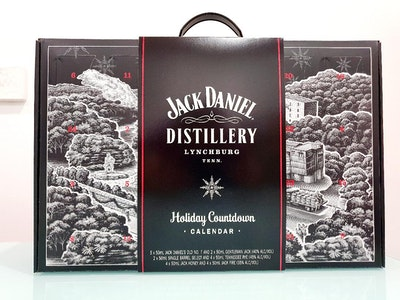 Jack Daniel's Holiday Calendar 50mL