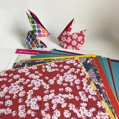 Origami World Origami Rabbit DIY Flat Kit 2021