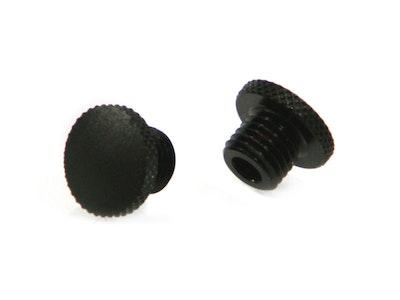 Threaded Mirror Block Off Plugs - 2 x 8mm Right