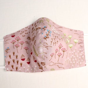 Reusable Cotton Face Mask made from Korean fabric (Child/Adult) - Botanical