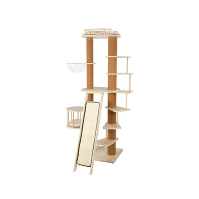 Honeypot CAT® Solid Wood Cat Tree 206cm
