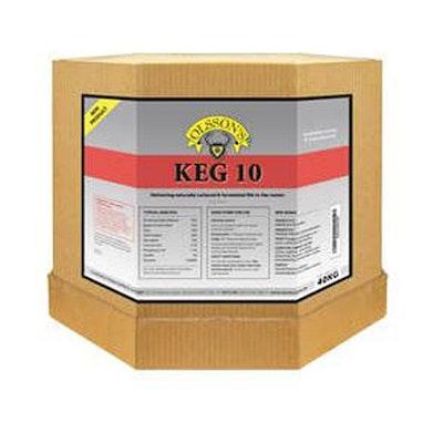 Olssons Keg 10 Fully Brewed Pasture Rumen Supplement 40kg