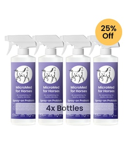 MicroMed for Horses Acute Care – 500ml 4 for 3 Bundle