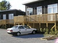 Park at the door DeBretts motel units Taupo