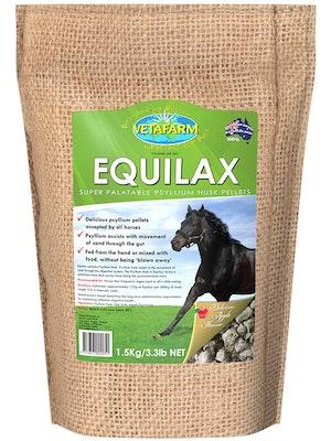 Vetafarm Equilax High Fibre Apple Flavour Pellet Horse Food - 2 Sizes