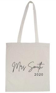 Personalised Teachers Bag