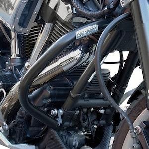 Crash Bars Engine Protectors - Yamaha XV1700 Warrior 03-10 Black