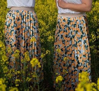 Pleated Skirt   Positan
