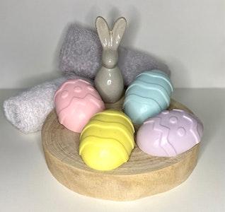 Soul Aware Botanics 4 Easter Egg Soap + Easter Egg Chocolates Gift Packs 2021