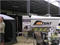 Oztent shows its options for campers