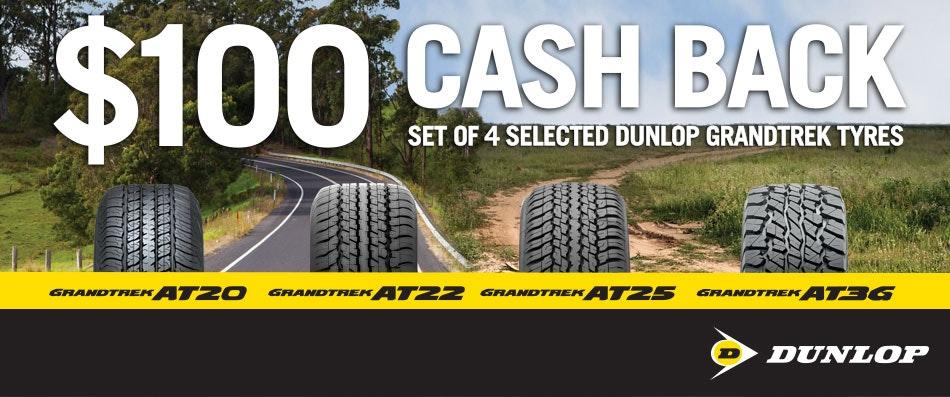 Dunlop Cash Back Promotion
