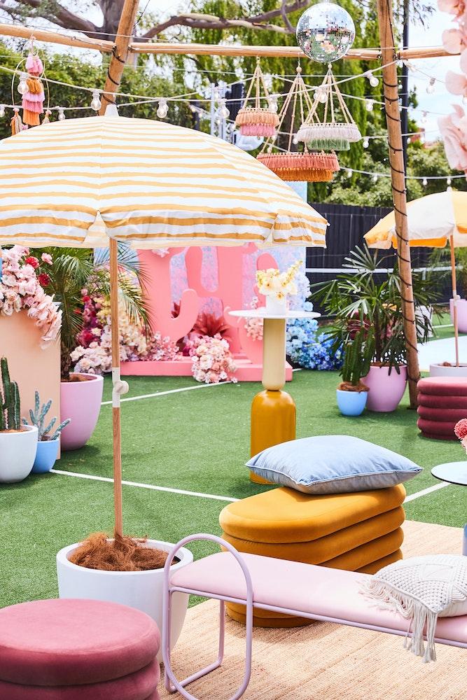 Bec Judd's Coachella themed housewarming party - JUDDCHELLA