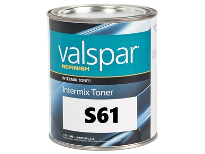 Valspar Refinish S61 Medium Aluminium 1Qt