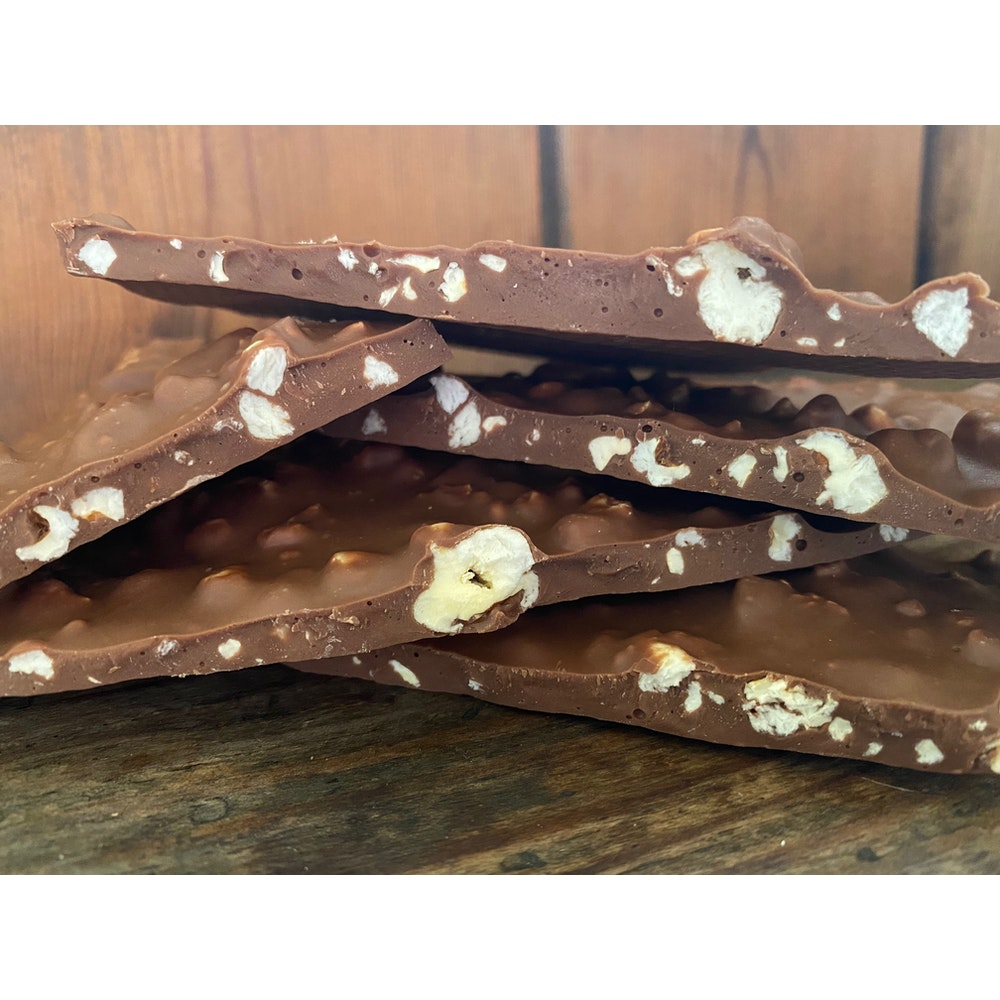 Lifetime of Chocolate Popcorn Bark