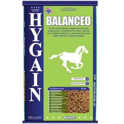 Hygain Balanced Horses Dietary Feed Supplement 20kg