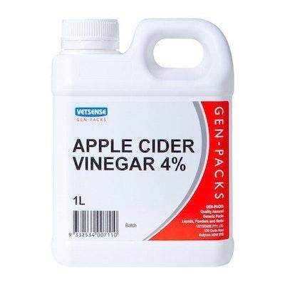 Vetsense Gen Pack Apple Cider Vinegar 4% Animal Feed Supplement 20L