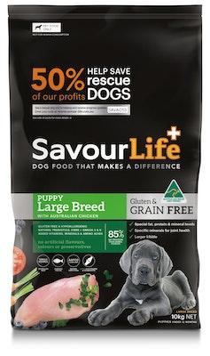 Savourlife Grain Free Puppy Large Breed 10kg