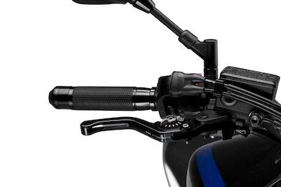 Puig Short 3.0 Brake Lever (Black with Silver Adjuster)