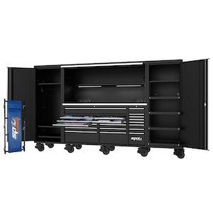 "SP50850 Workstation Tool Kit 708 Piece 128"" METRIC/SAE BLACK SP50850"