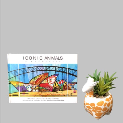 Iconic Colours ICONIC ANIMALS OF AUSTRALIA  gift book