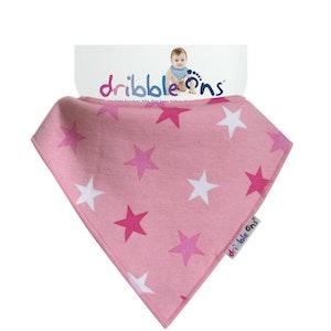 Sock Ons DRIBBLE ONS Pink Star