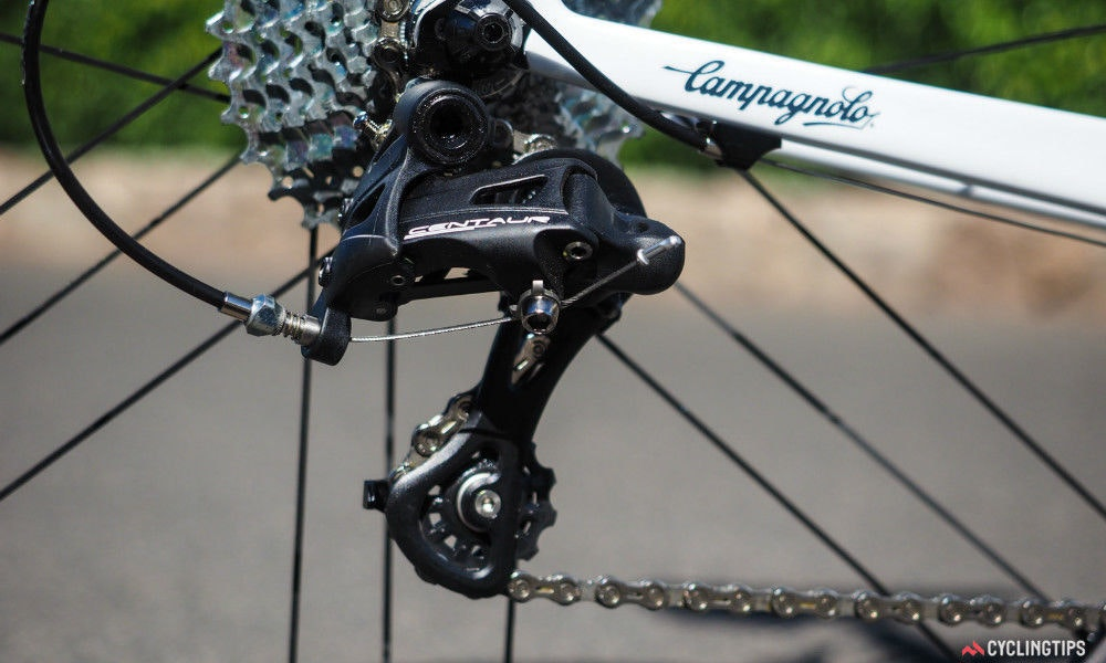 fullpage campagnolo centaur groupset ten things to know mid cage rear derailleur