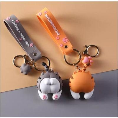 Symbolic Studio Cute Cat button - Keychains