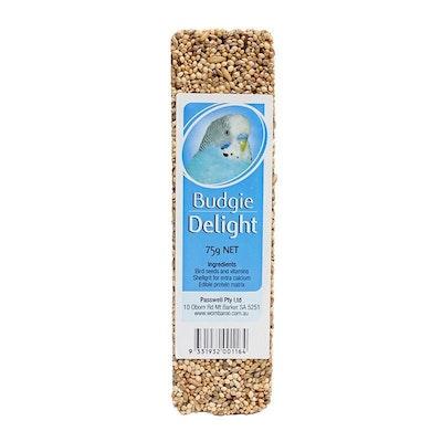 PASSWELL Avian Delight Bird Seed Treat Bar Budgie 75g 24 Pack