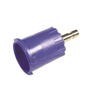 Radiator Cap Pressure Tester Adaptor - Blue Bayonet