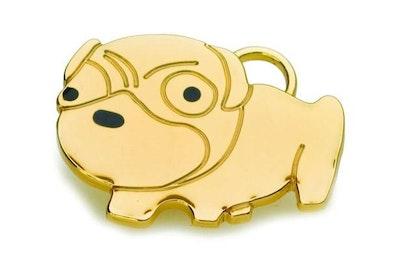 Hamish McBeth Pug Pet ID Tag