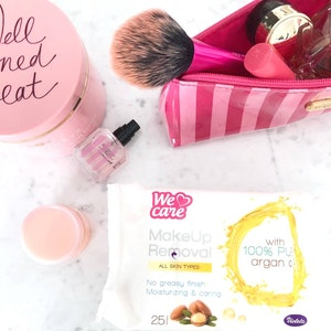 ARGAN OIL MAKE-UP REMOVAL WIPES 25 Wipes