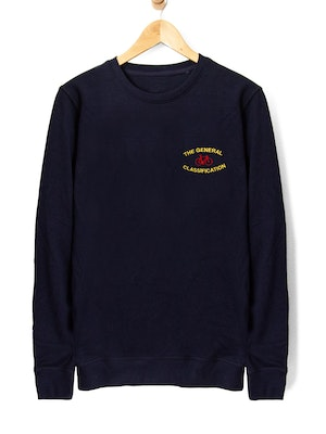 The General Classification Stitched Median Bicycle Crew Navy