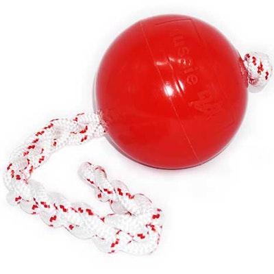 Aussie Dog Dobbin Dragger Non Toxic Toy Ball