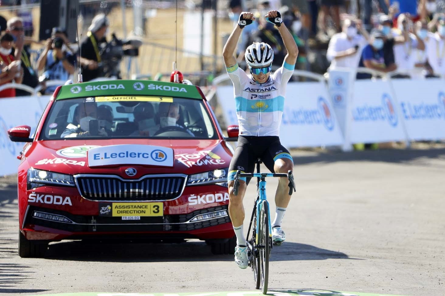Northwave - What a race! Alexey Lutsenko, Astana Team Pro Athlete, wins the 6th stage of the Tour De France