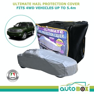 Ultimate Hail Stone Car Full Cover 4WD to 5.4M suit Toyota Landcruiser 200 LX570