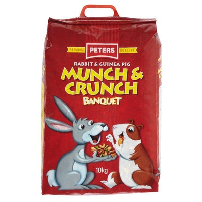 Peters Munch & Crunch Rabbit and Guinea Pig Food Mix